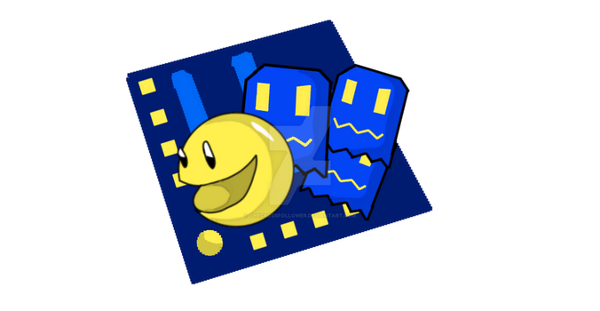 Pac man by TheCrossfollower