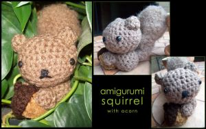 Amigurumi Squirrel by whithersoever