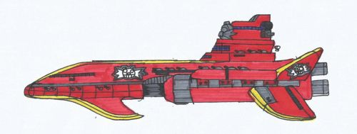 Eggman Empire: Command Ship by SPATON37