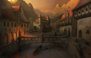 Medieval Town by sleepytimes