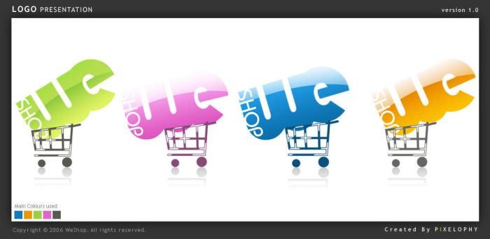 WeShop logo by pixelbudah