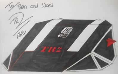 Robot Wars custom series: TR2 signed by Alex Brown by sgtjack2016