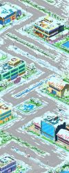 Map Design Sprigfield Mania_With Snow by CiCiY