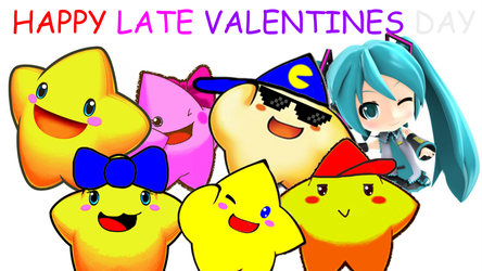 Happy V-day from Starfy's Family and Me by SuperStarfy2002