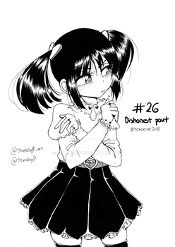 STALKINK2018 - DAY 26 [DISHONEST POUT]
