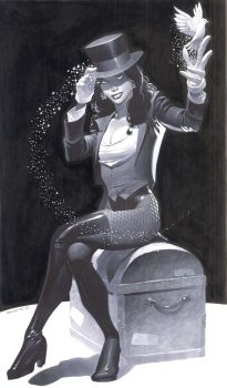 Zatanna Markers by ChristopherStevens
