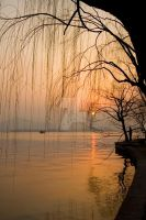 Sunset on the West Lake by Ashenden