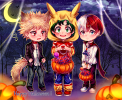 Happy Halloween 2018 ! [Bnha] by decimeki