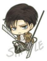 Chibi Rivaille by tifl429