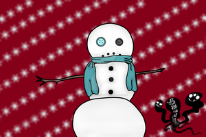 Snowman {Advent Adopt} Open by SoulsofTheDoomed