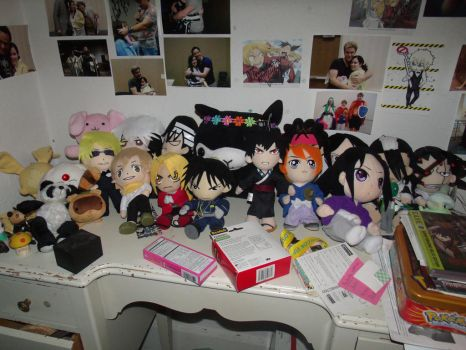 Plushie Collection by albertxlailaxx