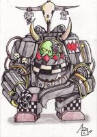 OrK Warhammer 40K by Sufferst