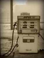 Abandoned Petrol Station by goafertography