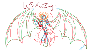 Sketch for ReFan69(Wezzy) by HawaiianGirl103