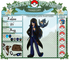 Pokemon Township - Trainer Card - Kelso by KelsoThePirate