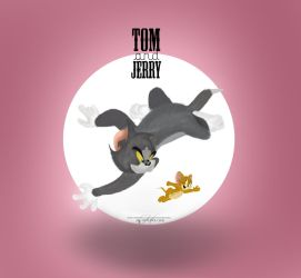 Tom And Jerry by HYFCOOLCLUB