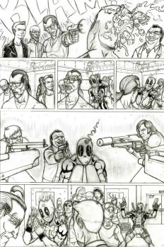 Deadpool Page four of seven by LipGlossary