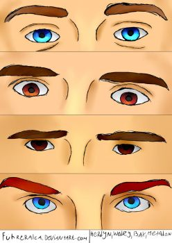 Youtubers Eyes #1 by FuhrerAlca