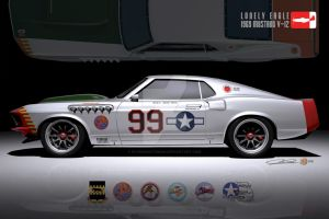 '69 Mustang 'Lonely Eagle' by FlyingScotsman