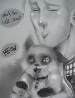 Anders cat and stuff by SilentandPsychotic