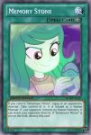 Memory Stone (MLP): Yu-Gi-Oh! Card by PopPixieRex