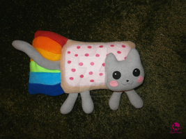Nyan Cat plushie by Ishtar-Creations