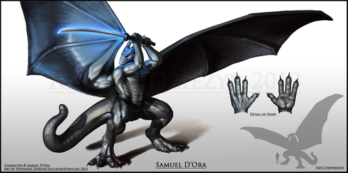 Samuel D'Ora by LeccathuFurvicael