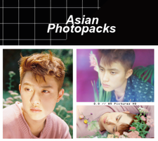 Photopack 1525 // D.O (EXO) (THE WAR) by xAsianPhotopacks