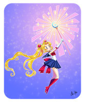 Sailor Moon by xaCupofArt