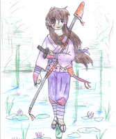 BA Shauni at the lilly pond f by Shauni-chan