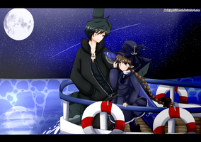 Wadanohara and the great blue sea by MalejagutiTheCat