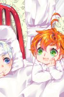 The Promised Neverland by Miuseorin