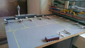 MY AIRLINERS COLLECTION 1/500 KAI TAK AIRPORT by victordragon747