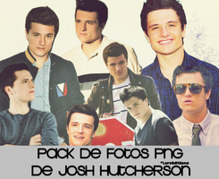 Pack png Josh Hutcherson by LoreEditiions