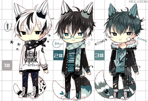 [AUCTION*CLOSED]Lineheart*40[MAFIA] by Relxion-kun