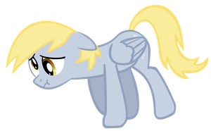 Sad Derpy by YourFaithfulStudent
