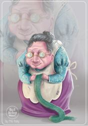 THE GRANNY- CHARACTER DESIGN by HisakiChan