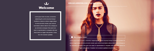 Emilia Clarke PSD Header | FREE by BrielleFantasy