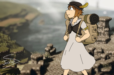 Tressa Travels for Treasure by JocelynSamara