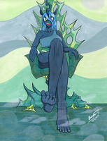 Chrysalis's Throne by Braxia