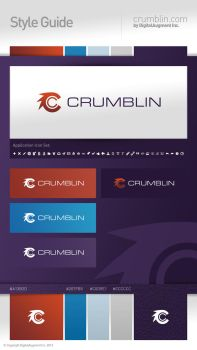 Crumblin Style Guide by sixfoothazel