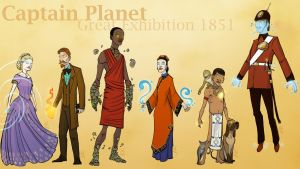 Captain Planet - Great Exhibition 1851 by DBed
