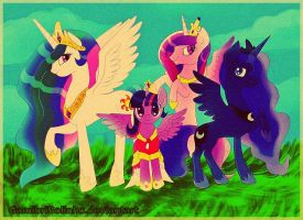 The royal family by Gamibrii