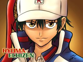 Prince of Tennis Ryoma Echizen by maehao