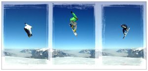 Snowboard Contest Pizol by creatyves