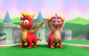 MMD Ember and Flame DL by NinjawsGaiden
