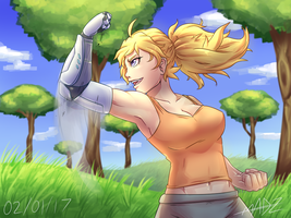 YANG XIAO LONG - BACK IN THE 'SWING' OF THINGS by Mad-Revolution
