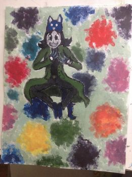 Human nepeta legion painting  by IssyInked