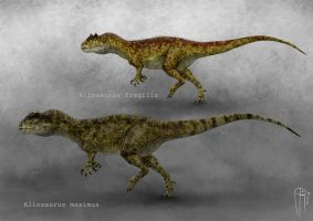 allosaurus by JELSIN