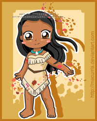 Pocahontas by macurris